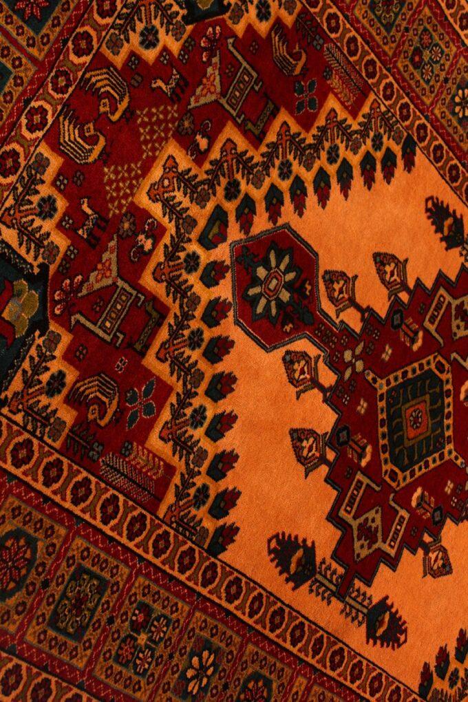 فرش دستباف ترکمن ۳۲۵