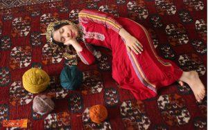 افسانه رنگ فرش دستباف ترکمن