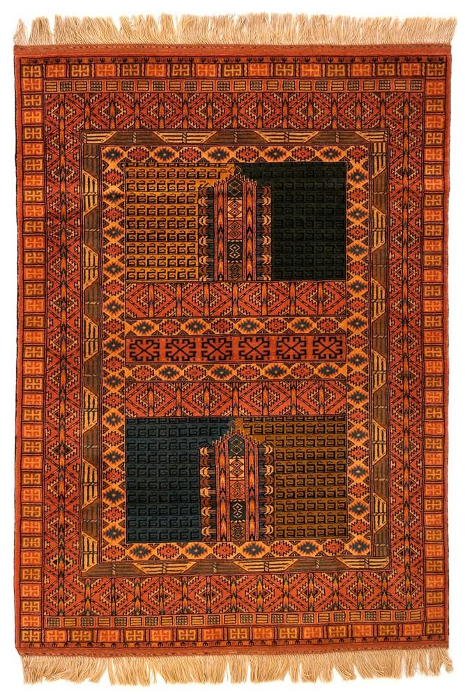 فرش دستباف ترکمن ۱۵۹۰/۱
