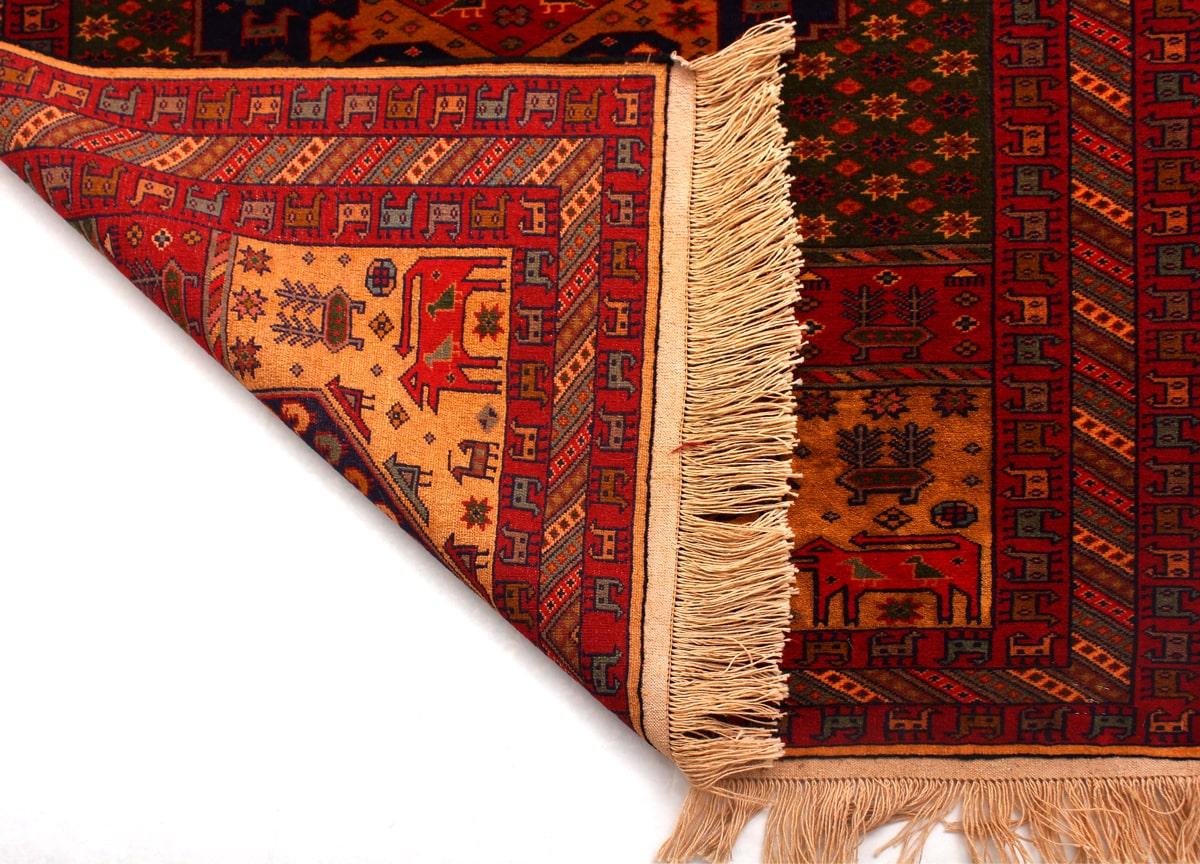 فرش دستباف ترکمن ۴۳۹/۱ در فروشگاه اینترنتی تکباف به فروش میرسد - فروشگاه  اینترنتی تکباف