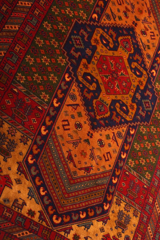 فرش دستباف ترکمن ۴۳۹/۱