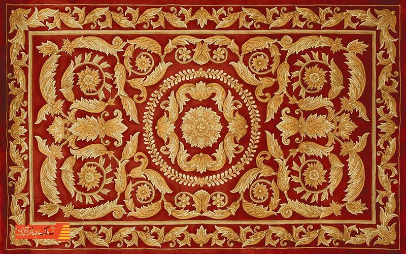 فرش دستباف چینی
