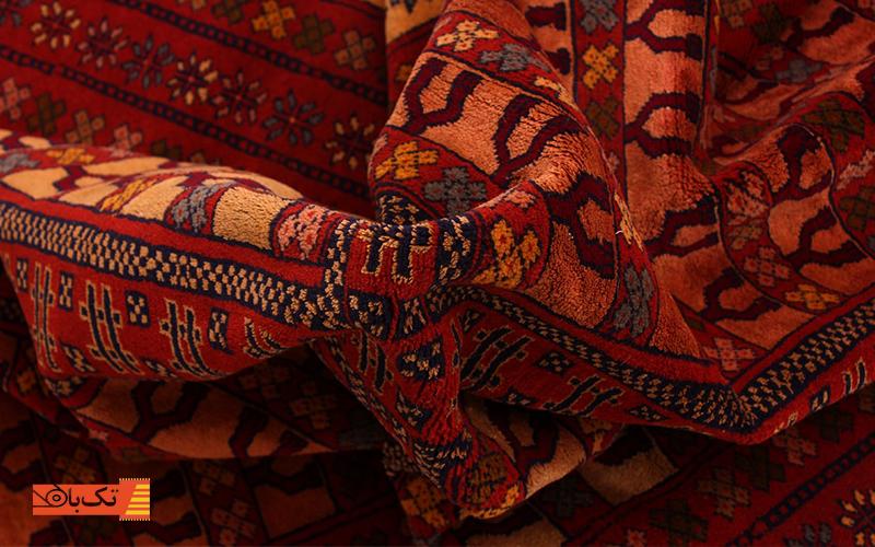 زیبایی رنگ فرش دستباف